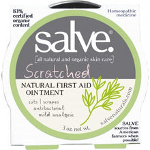 Load image into Gallery viewer, Scratched – Emergency Salve (hand-made 83%+ certified organic content)