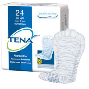 Tena – Day (Light, Medium & Heavy Absorbency)