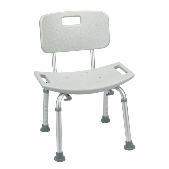 Bathroom Safety Shower Chair with Back