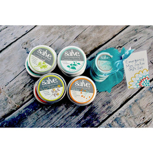 5-Piece Emergency Salve Mini Gift Set (1 oz each)