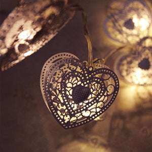 Heart Fairy Lights - Aster & Birch