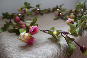 Flower Vine LED Fairy Lights - Aster & Birch