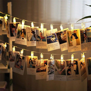 LED Photo-Clip Garland - Aster & Birch