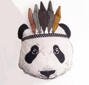 Panda Pillow - Aster & Birch