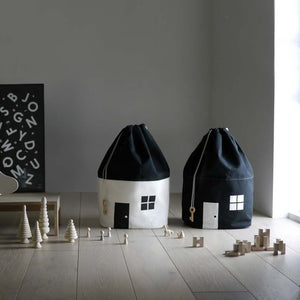 House Shape Toy Storage - Aster & Birch