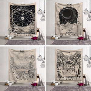 Tarot Wall Tapestry - Aster & Birch