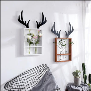 Oh Deer-Wall Vase and frame - Aster & Birch