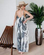 Load image into Gallery viewer, Casual Tie-dye Holiday Jumpsuit Spaghetti-Strap Romper
