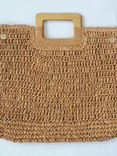 Load image into Gallery viewer, Crochet Bag Female Summer Straw Bag Handbag Beach Bag