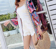 Load image into Gallery viewer, 2018 New Printed Loose Casual Bohemia Cardigan Tops