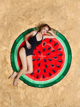 Load image into Gallery viewer, Printed New Beach Towel Shawl Watermelon Beach Mat