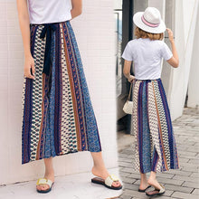 Load image into Gallery viewer, Chiffon Bohemian Wide-leg Pants Seaside Holiday Beach Pants