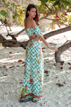Load image into Gallery viewer, Bohemian Beach Vacation Casual Two-piece Skirt