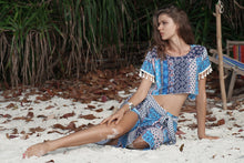 Load image into Gallery viewer, Bohemian Irregular Beach Casual Suit Two-piece Skirt