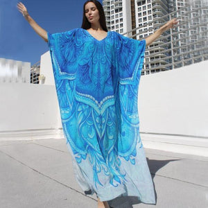 Beach Robes Seaside Vacation Blouse Cover Up Dress