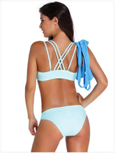 Load image into Gallery viewer, Bikini Fashion Print Three-piece Split Swimsuit