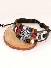 Load image into Gallery viewer, Punk Multi-layered Retro Beaded Bracelet Accessories