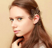 Load image into Gallery viewer, Retro One Piece Big Leaves Ear Cuff Earring