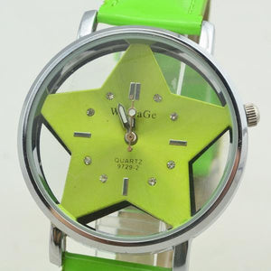 Korean Fashion Creative Girl Hollow Star Watch