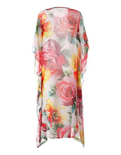 Load image into Gallery viewer, Printed Loose Casual Beach Maxi Dress