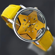 Load image into Gallery viewer, Korean Fashion Creative Girl Hollow Star Watch