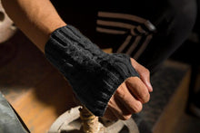 Load image into Gallery viewer, Half refers to the warm knit typing women s thick wool Half palm gloves - 1