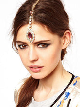 Load image into Gallery viewer, Forehead Gemstone Hairpin Headwear Accessories