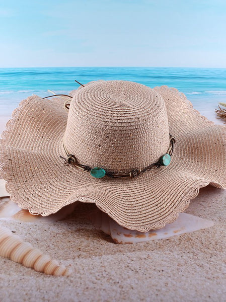 New Spring And Summer Outdoor Sun Protection Big-edge Sun Hat