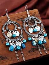Load image into Gallery viewer, Retro Fashion Bohemia Tassel Style Alloy Earrings