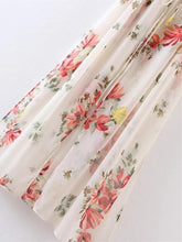 Load image into Gallery viewer, Chiffon Floral Printed Split-side Maxi Dress
