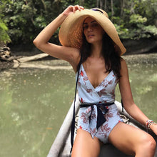 Load image into Gallery viewer, Sexy Women's Print One Piece Swimsuit