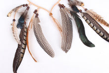 Load image into Gallery viewer, Boho Peacock Feathers Headwear Accessories