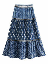 Load image into Gallery viewer, Fashion Boho Printed Beach Skirt
