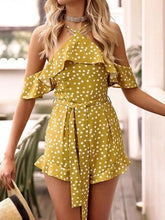 Load image into Gallery viewer, 2018 New Sexy Polka Dot Short Jumpsuit Romper