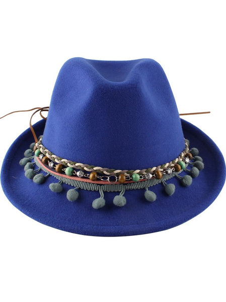 New Bell-shaped Woolen Top Hat