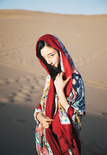 Load image into Gallery viewer, Bohemia Print Beach Casual Cape&Scarf
