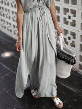 Load image into Gallery viewer, 2018 Solid Color Beach Maxi Dress