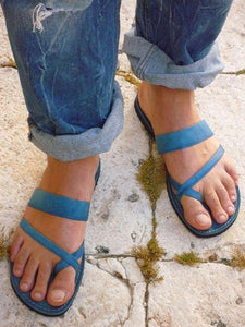 Casual Beach Solid Slipper Shoes