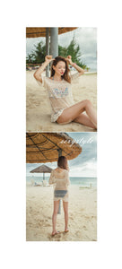 Sexy Knit Hollow Loose Beach Bikini Cover Up
