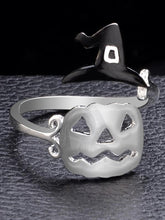 Load image into Gallery viewer, Halloween Witch's Hat&Broomstick Hollow Rings