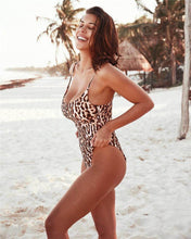 Load image into Gallery viewer, Leopard Sexy Swimsuit Bikini One-piece Swimsuit