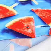 Load image into Gallery viewer, CREATIVE WATERMELON PRINTED Round BEACH Mat