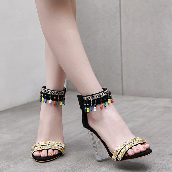 2018 Fashion Summer High Heel Sandals