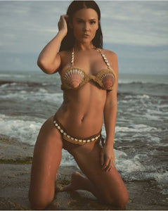 Handmade Bikini Sexy Swimsuit Knit Shell