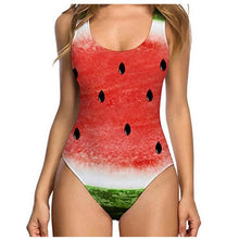 Load image into Gallery viewer, Fresh Fruits One Piece Sexy Shell Swimsuit