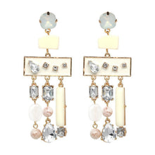 Load image into Gallery viewer, Bohemian Diamond Geometry Earrings Accessories