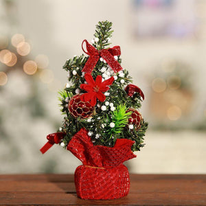 Mini Artificial Christmas Tree Christmas Desk Decoration