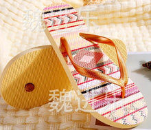 Load image into Gallery viewer, Comfortable Ladies Flip-flops High Quality Beach Pop Wind Sandals