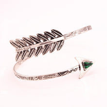 Load image into Gallery viewer, Retro fashion exaggerated gem cupid arrow ladies bracelet arm ring