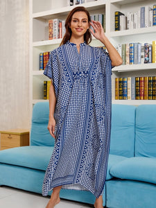 New Four-way Stretch Printing Loose Casual Cover up